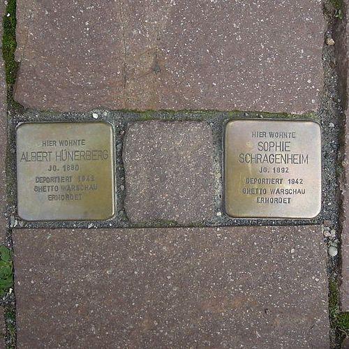 Stolpersteine Friedrich-Ludwig-Jahn-Straße 25