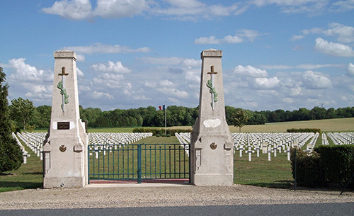 Franse Oorlogsbegraafplaats Sept-Saulx