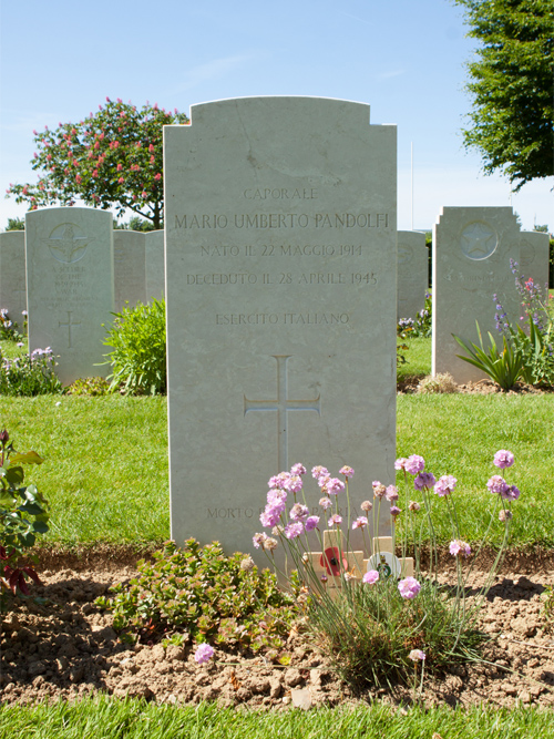 Italiaanse Oorlogsgraven Bayeux