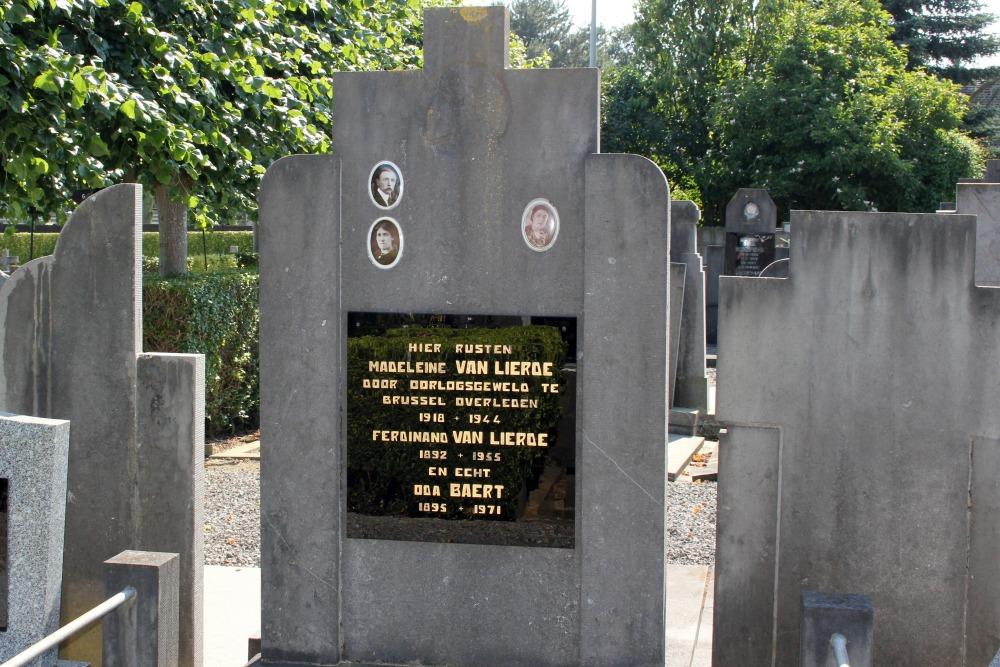 Grave Civilian Casualty Anzegem