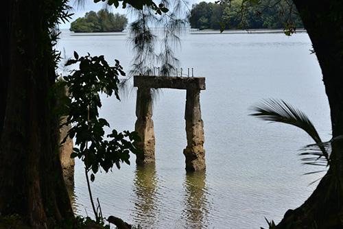 Remains Japanese Harbor