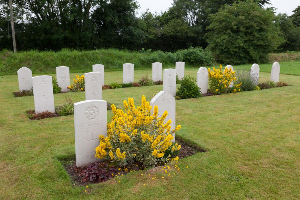 Dutch War Graves Carew Cheriton