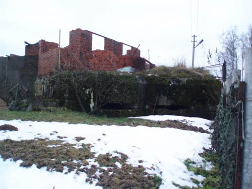Stalinlinie - Artilleriekazemat Nr. 323