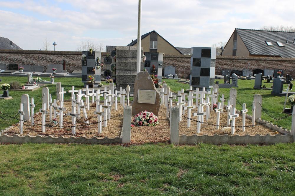 Oorlogsmonument Begraafplaats Goetsenhoven