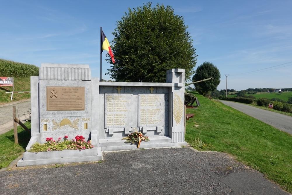 Memorial Fort Aubin-Neufchâteau 1940