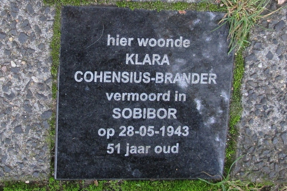 Memorial Stone Jacob Marisstraat 10