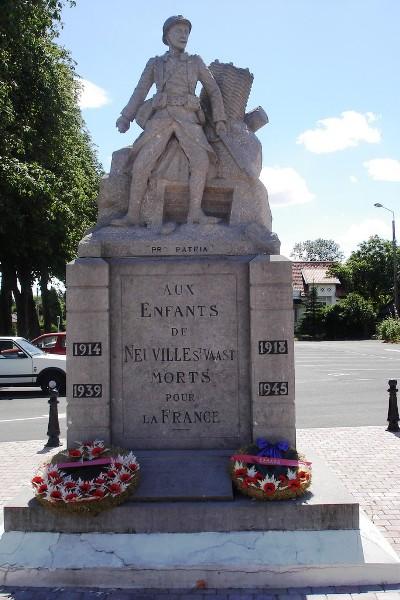 Oorlogsmonument Neuville-Saint-Vaast