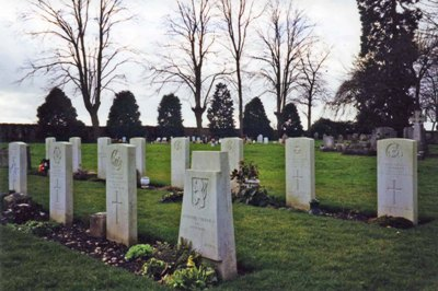 Commonwealth War Graves Whitnash Road Cemetery