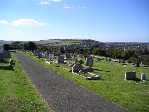 Oorlogsgraven van het Gemenebest Carisbrooke Cemetery