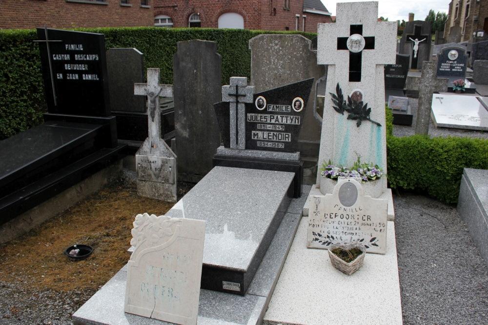 Belgian War Graves Zandvoorde
