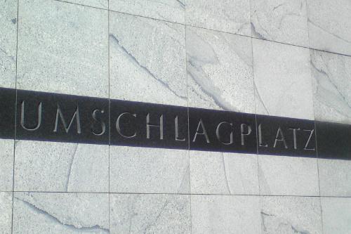 Memorial Umschlagplatz Warsaw