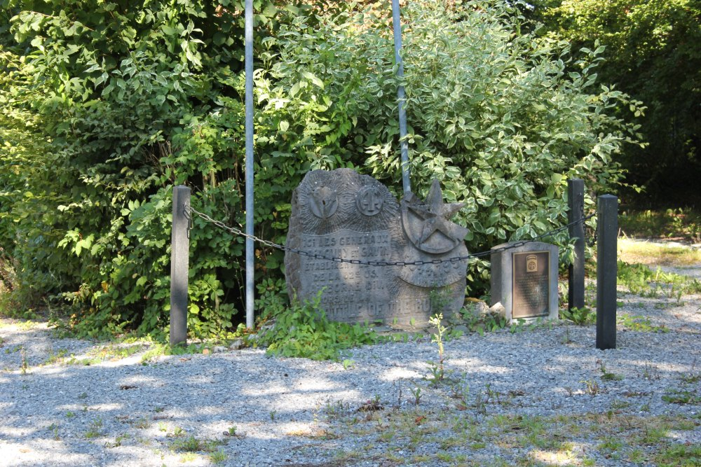 Gedenksteen Slag om de Ardennen Werbomont