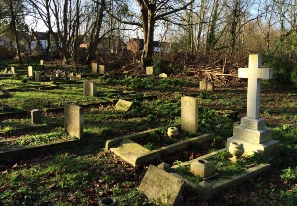 Oorlogsgraven van het Gemenebest Shepperton Church Cemetery