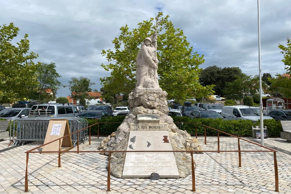 Oorlogsmonument Soulac-sur-Mer