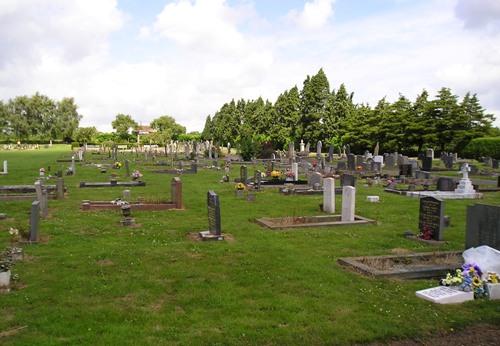 Commonwealth War Graves Anstey Cemetery