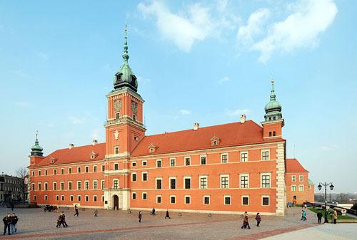 Koninklijk Kasteel Warschau