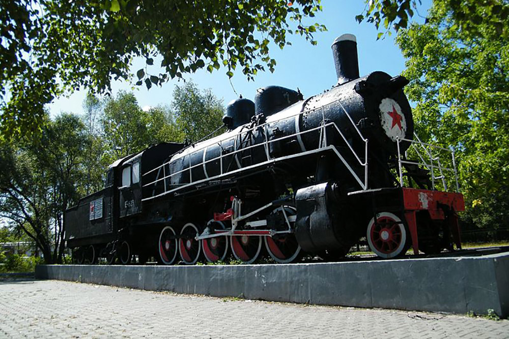 Locomotive Ел-629 Ussuriysk