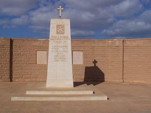 Memorial Czechoslovakian Defenders Tobruk