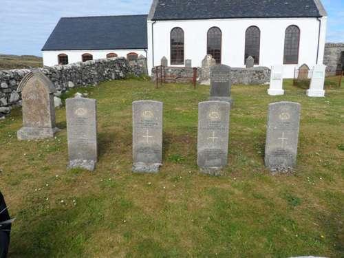 Commonwealth War Graves Cuidhir Parish Churchyard