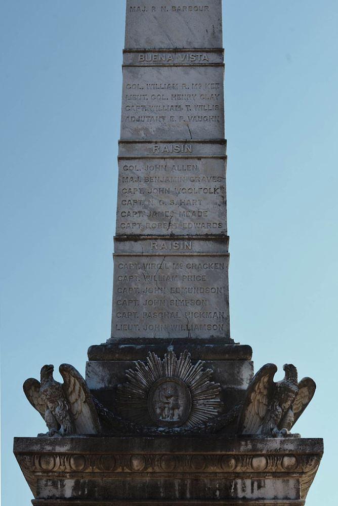 Monument Officieren uit Kentucky