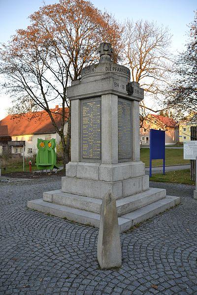 Oorlogsmonument Hohenau