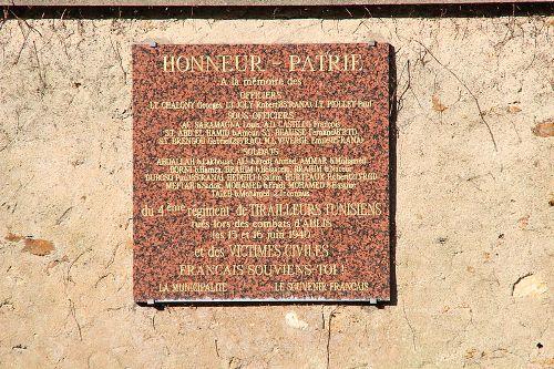 Memorial 4th Régiment de Tirailleurs Tunisiens