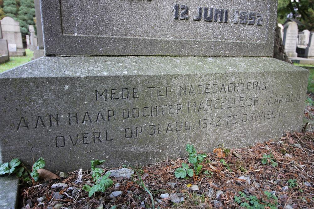 Joodse Herdenkingstenen Algemene Begraafplaats Maastricht