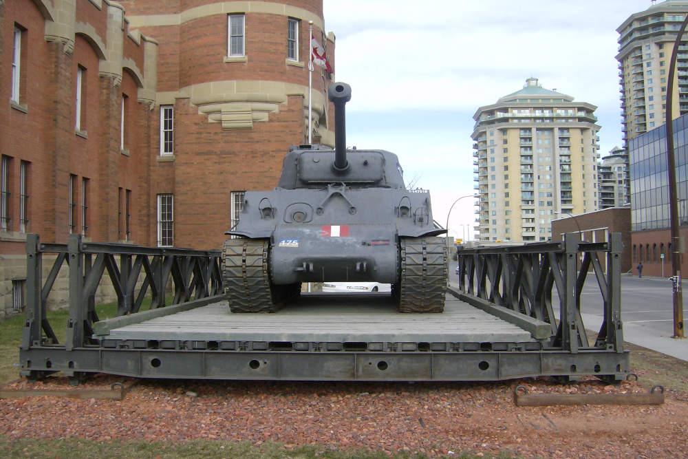 M4A3E8 Sherman Tank & Bailey Bridge