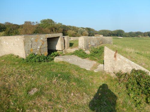 Stützpunkt 155 Tümmler - OB Flak