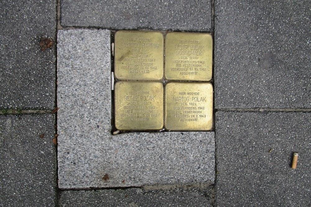 Stumbling Stones Groene Hilledijk 298a