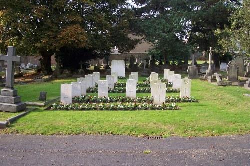 Oorlogsgraven van het Gemenebest Hanwell Cemetery