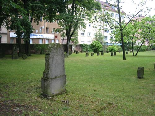 German War Graves 1693 - 1919 Nuremberg