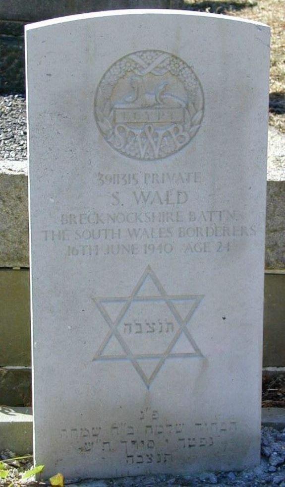 Oorlogsgraven van het Gemenebest Swansea Hebrew Congregation Cemetery