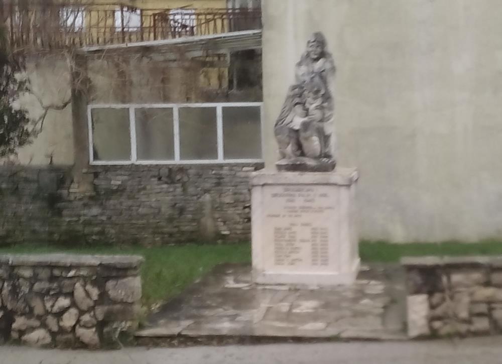 Monument Tweede Wereldoorlog Pupnat