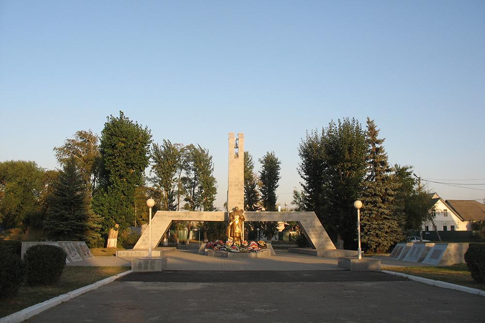 Mass Grave Soviet Soldiers No. 10