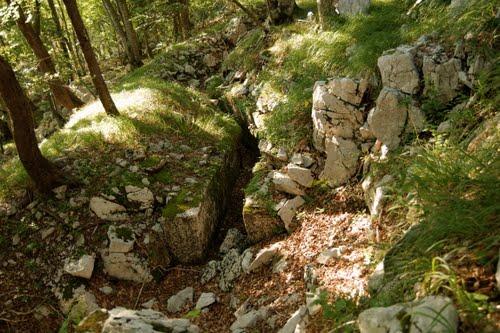 Alpenmuur - Versterkte Loopgraaf Trstenik
