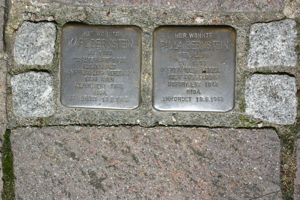 Stumbling Stones Münsterkichhof 13