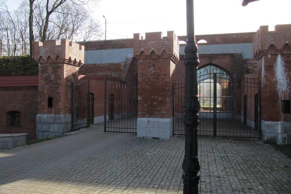 Festung Königsberg - Eisenbahn Tor - Kaliningrad - TracesOfWar com