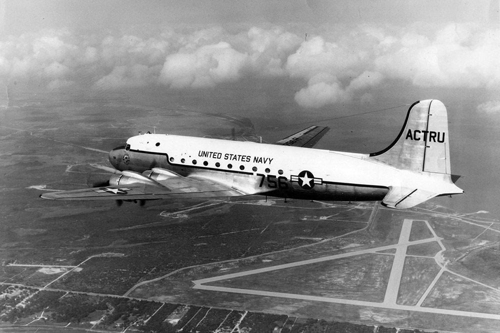 Crashlocatie Douglas R5D-3 (DC-4) 56491