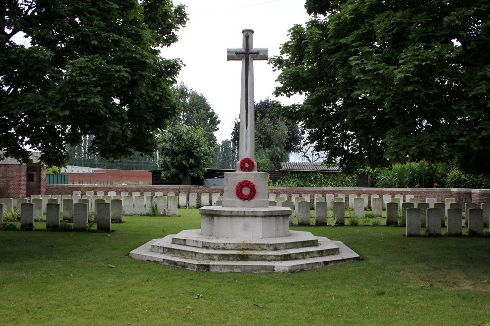 Oorlogsbegraafplaats van het Gemenebest Vichte