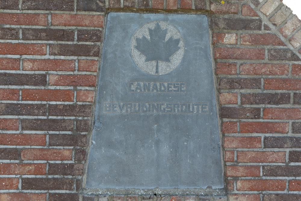 Marker No. 1 Canadian Liberation Route