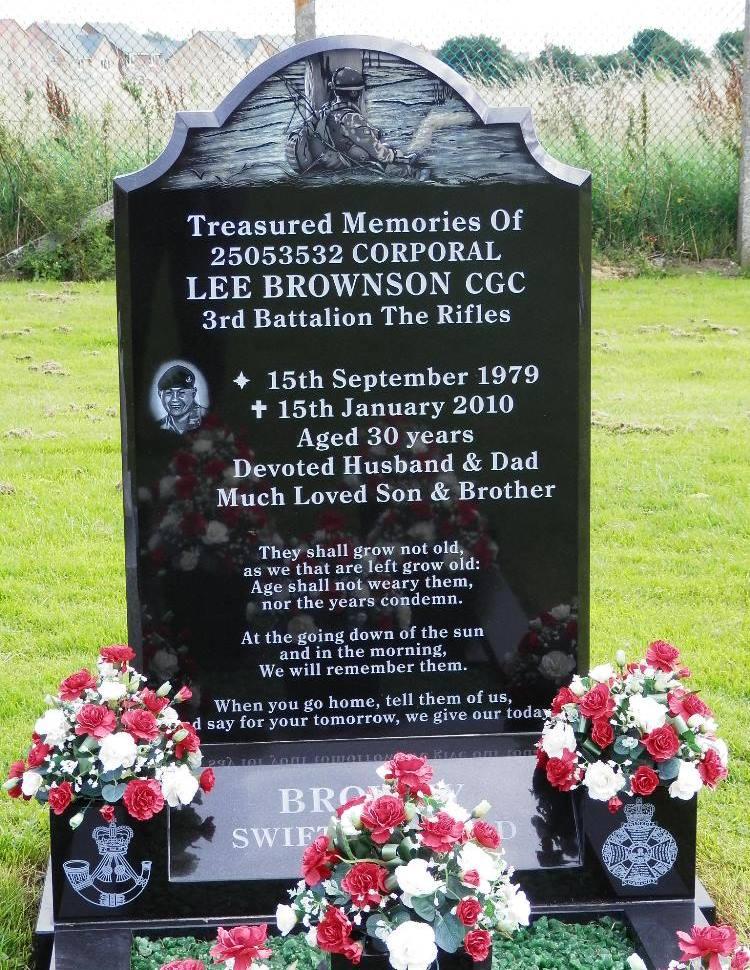 Brits Oorlogsgraf Bishop Auckland Town Cemetery