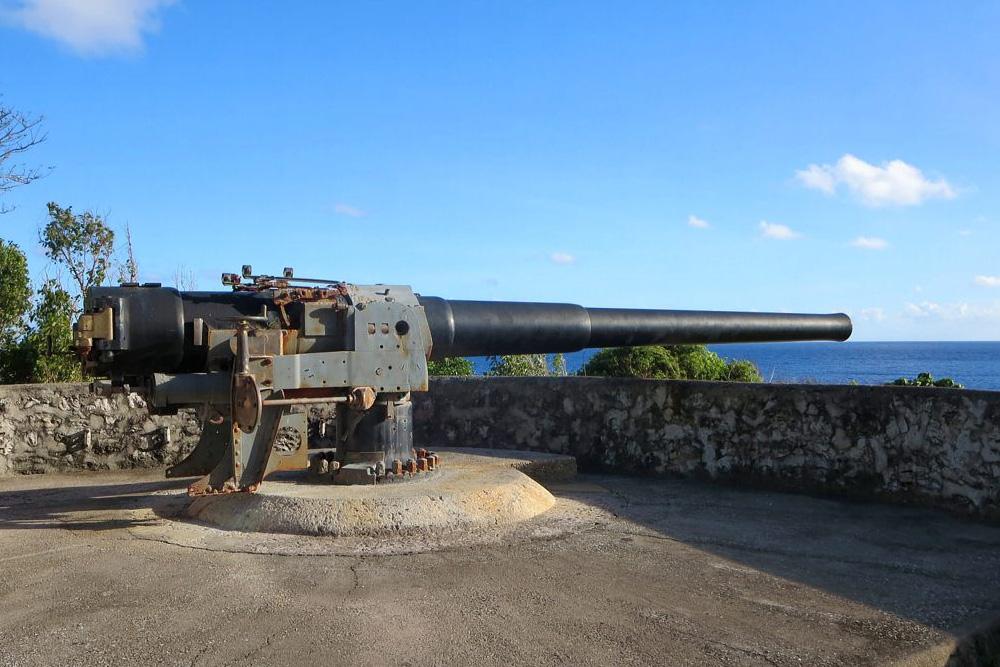 6 Inch Coastal Gun