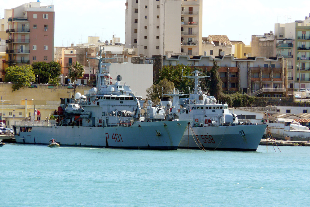 Italian Naval Base Augusta