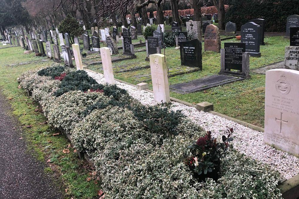 Oorlogsgraven van het Gemenebest (Bergklooster)
