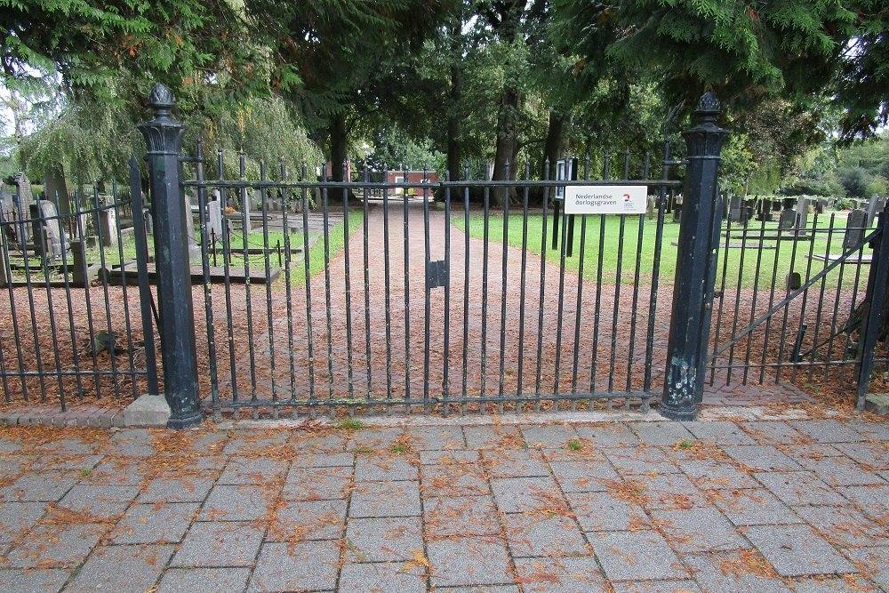 Nederlandse Oorlogsgraven Gemeentelijke Begraafplaats Steenwijk