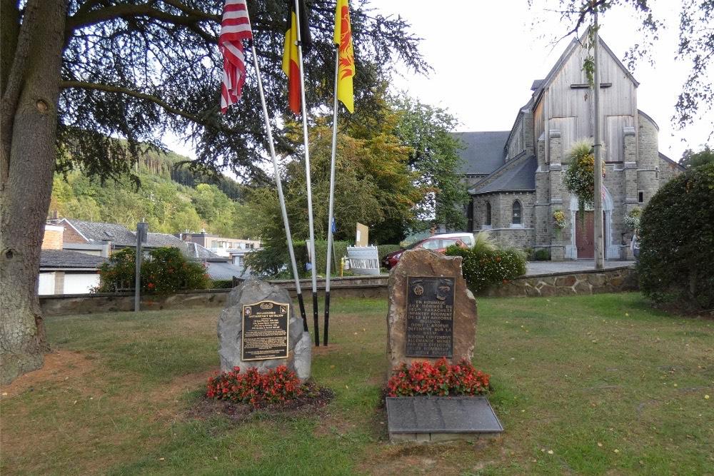 Amerikaanse Monumenten Trois-Ponts