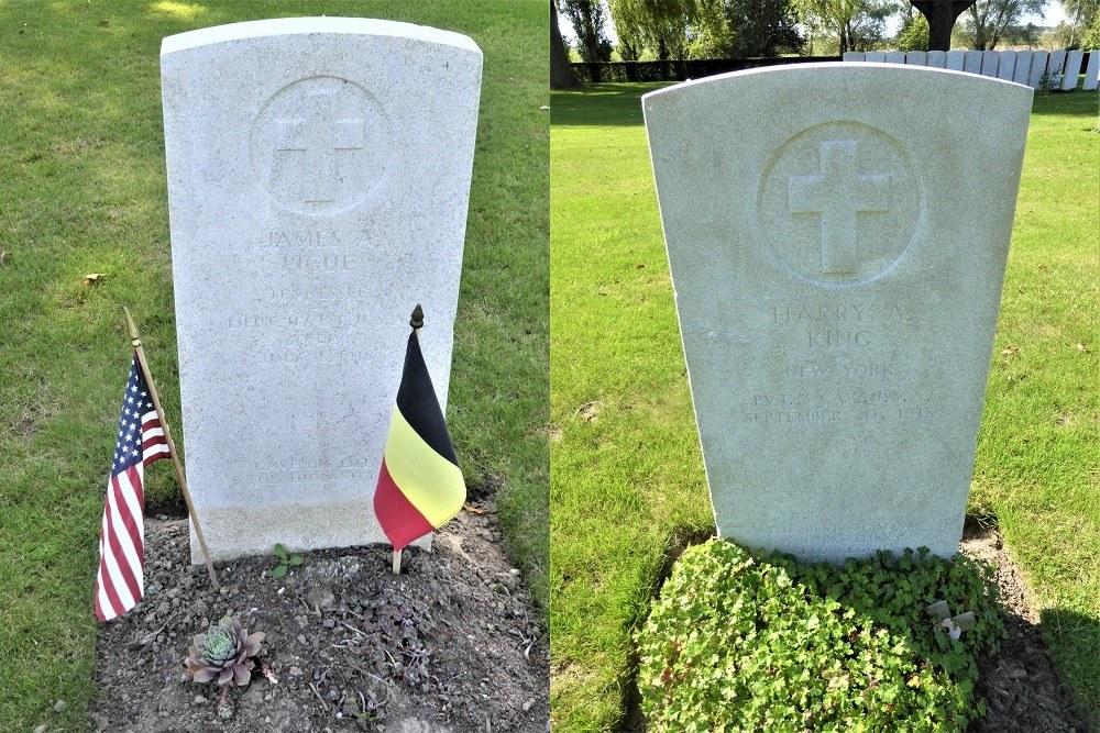 Amerikaanse Oorlogsgraven Begraafplaats Lijssenthoek