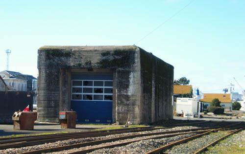 Magazijnbunker U-boot Bunker