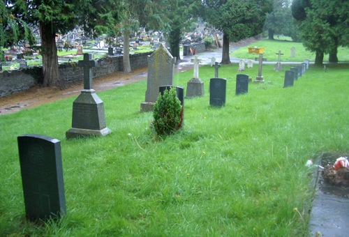Commonwealth War Graves Ballyglass Cemetery